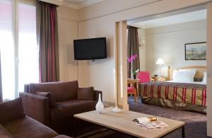 Junior Suite of the Hotel California Paris